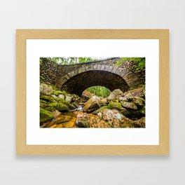 Cobblestone Bridge Framed Art Print