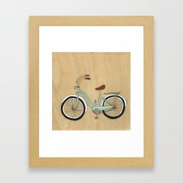 Wanna Ride Bikes? Framed Art Print