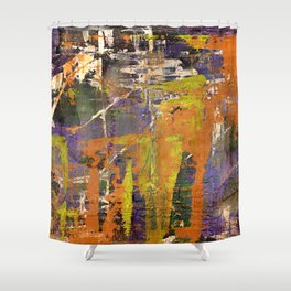 Chaos theory Shower Curtain