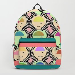 HAPPY FACES, SAD FACES Backpack
