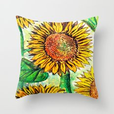Keep Up Buttercup Throw Pillow