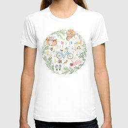 Eco city style T-shirt
