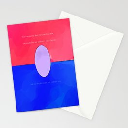 There goes our happy ending Stationery Cards