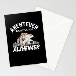 Lustiges Wohnmobil Besitzer Geschenk Stationery Cards