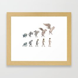 Darwin's Inspiration Framed Art Print