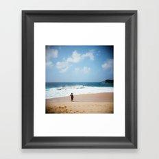 Today. Framed Art Print