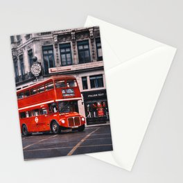 Fleet St Routemaster  Stationery Cards