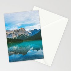 The Mountains and Blue Water Stationery Cards