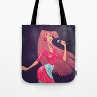 jem Tote Bags featuring Jem by Samantha Youssef