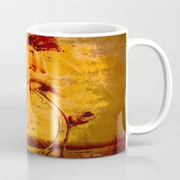 """"""" The life, it is as a bicycle, it is necessary to move forward not to lose the balance. """" Coffee Mug"""