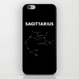 Sagittarius – Star Constellation iPhone Skin