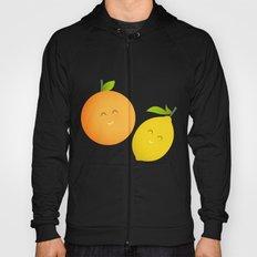 Happy Orange and Lemon Hoody