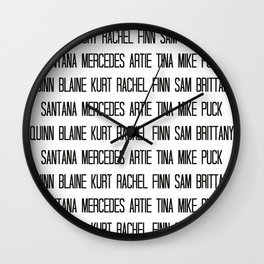 Ladies and gentleman, we are the New Directions! Wall Clock