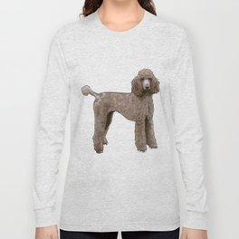 Elegant Poodle Long Sleeve T-shirt