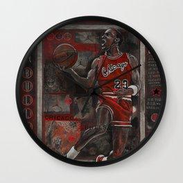 M Jordan Wall Clock