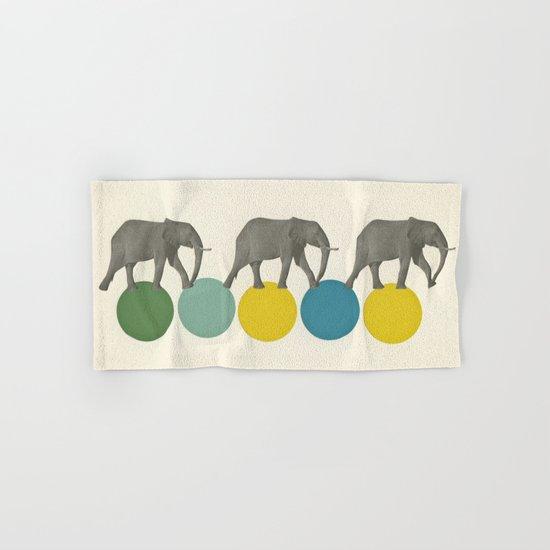 Travelling Elephants Hand & Bath Towel