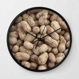 Peanuts - Nuts pattern Graphic Wall Clock