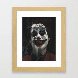 Joker. Framed Art Print