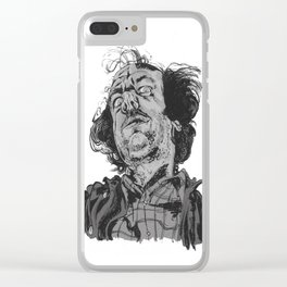 Jack Torrance, The Shining. Clear iPhone Case