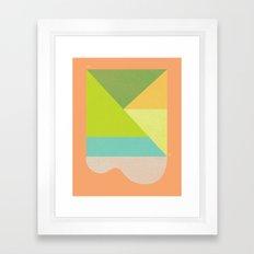 LINCOLN SLOAT SUN Framed Art Print