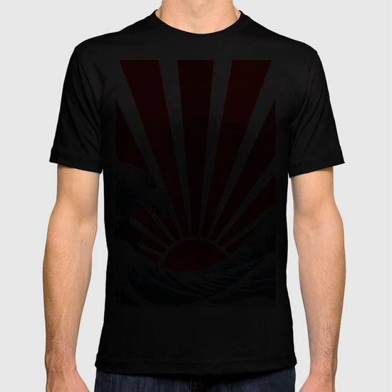 Great Wave of the Rising Sun T-shirt