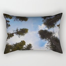 Tree Circle Rectangular Pillow