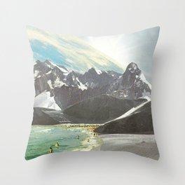 Mondi nuovi Throw Pillow