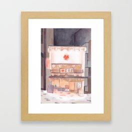 A shop front in Japan Framed Art Print