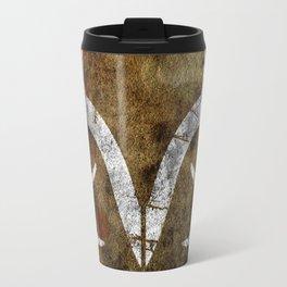 Real Tree Horns Travel Mug