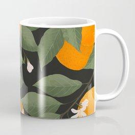 fresh citrus // dark Coffee Mug