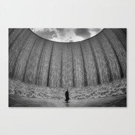 Wall O' Water Canvas Print
