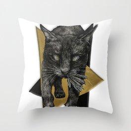 Night Walker Throw Pillow
