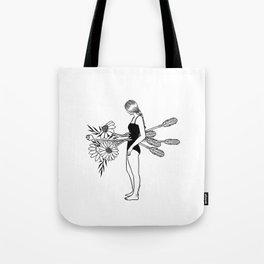 Blossom Through The Pain Tote Bag