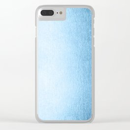 Blue Raspberry Shimmer Clear iPhone Case