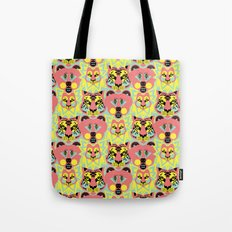 Modular Lions and Tigers and Bears. Tote Bag