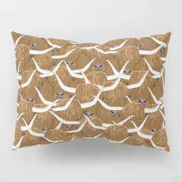 Scottish Highland Cows Pillow Sham