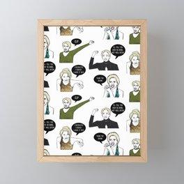 A Medley Print Framed Mini Art Print