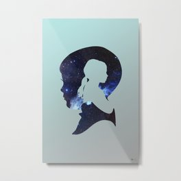 He Wished So Hard Metal Print