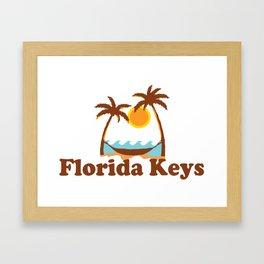 Florida Keys. Framed Art Print