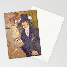 The Englishman, Henri de Toulouse Lautrec, 1892 Stationery Cards