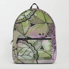Mandala | Fluid Art | Boho | Gypsy Backpack