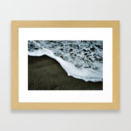 This water was off the coast of England once Framed Art Print