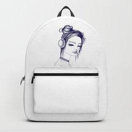 Suicide Girl Sketch Backpack