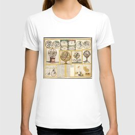 Collection of Astronomical Instruments, Charts and Maps (1769) T-shirt