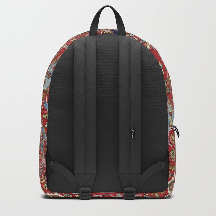 Heriz  Antique Persian Rug Print Backpack