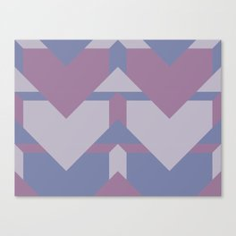 Violet Directions #society6 #violet #pattern Canvas Print
