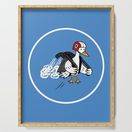 Jet Duck Serving Tray