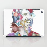 dave grohl iPad Cases featuring Dave Grohl by Bethan Eastwood
