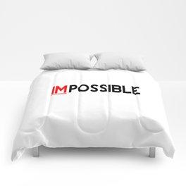 I Am Possible Comforters