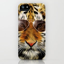 In the Eye of the Tiger iPhone Case